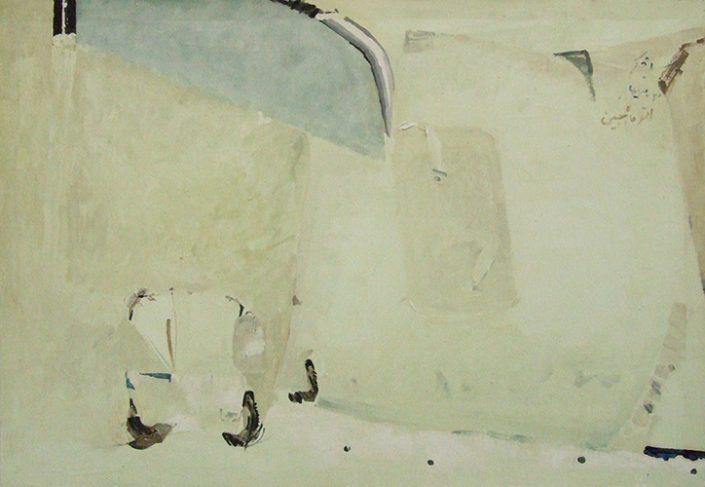 Auto mah jabin - Oil on canvas - 100 x 70 cm