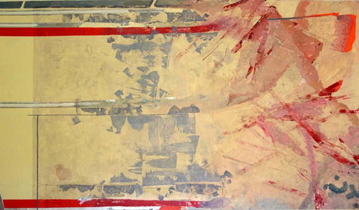 Badaneh - Mix media on canvas - 122 x 202 cm
