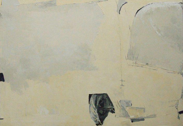 Dar picho tab - Oil on canvas - 100 x 70 cm